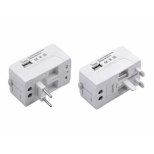 Universal Travel Adapter with USB