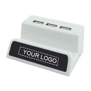 Phone Stand with USB Hub