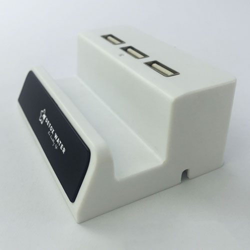 Phone Stand with USB Hub