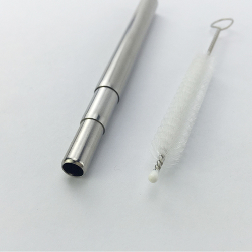 Telescopic Reusable Straw in Plastic Tube