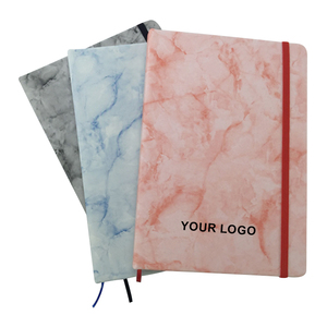 Marbled PU notebook