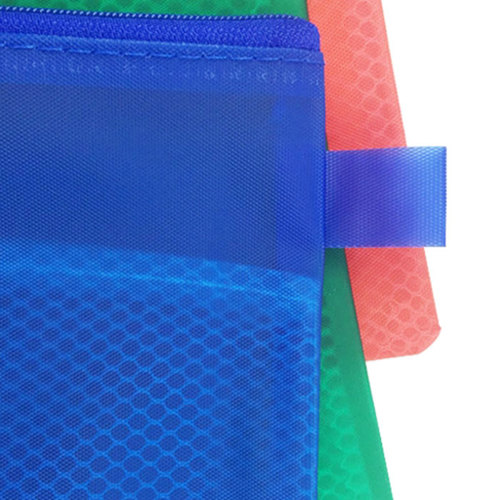 A5 Zippered Mesh Pouch