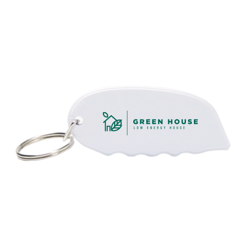 Carton Opener with Key Ring