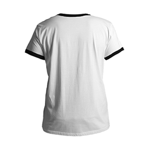 Men 's Cotton Black Round Neck T - shirt