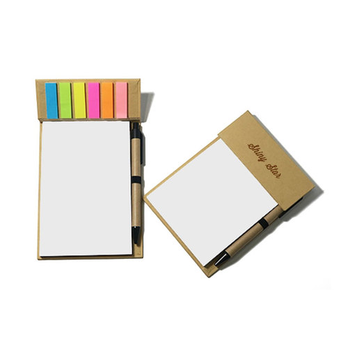 Desk Memo Pad with Pen