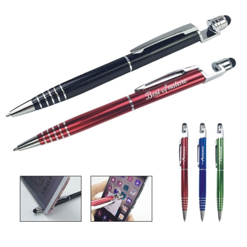 Stylus Ball Pen with Mobile Stand