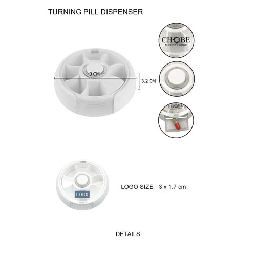 Turning Pill Dispenser