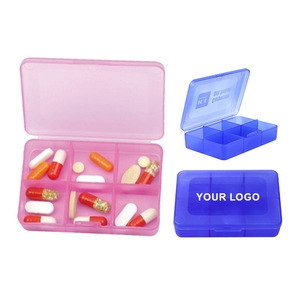 Compartments Pill Box