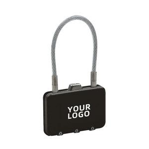 方形金屬密碼鎖