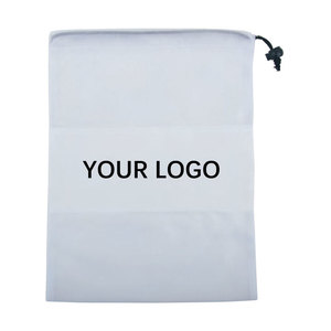 Large Size Drawstring White Bag