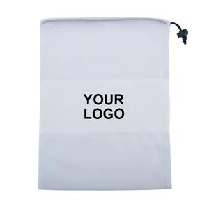 Small Size Drawstring White Bag