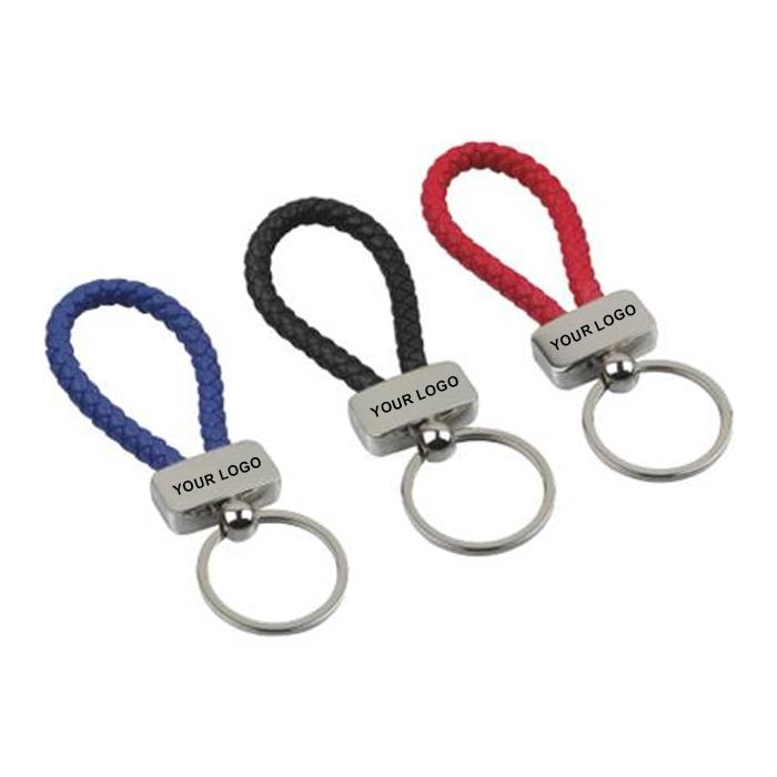 編織帶金屬鑰匙扣