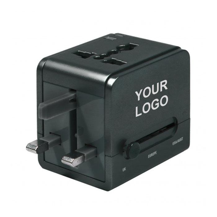 多國通用插頭 (USB 2.1A )