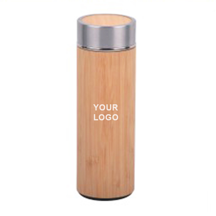 Bamboo Stainless Steel Bottle
