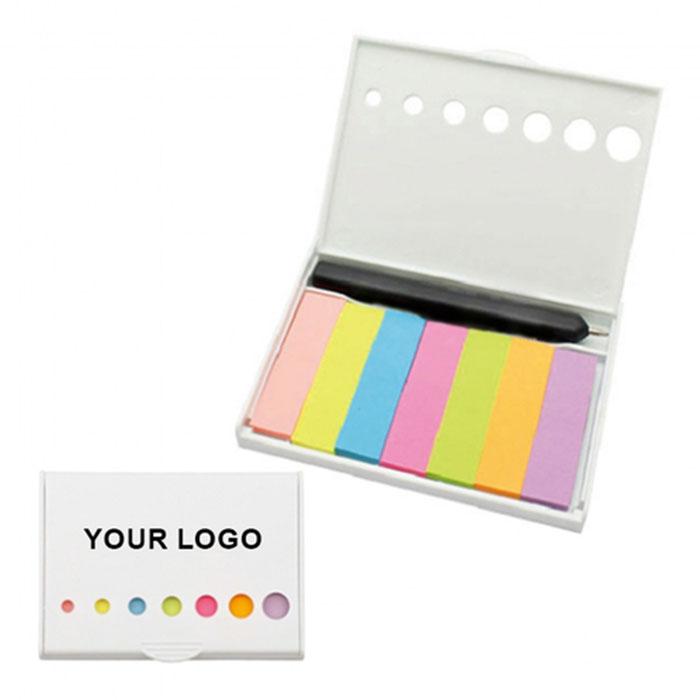 Memo Pad Box with Pen