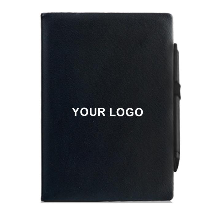 帶筆仿真皮筆記本