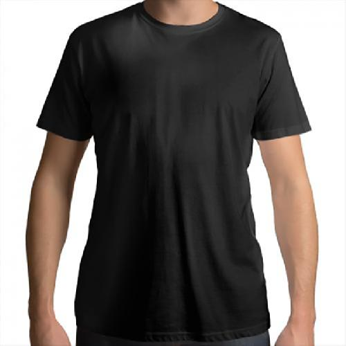Men 's Cotton Round Neck T - shirt