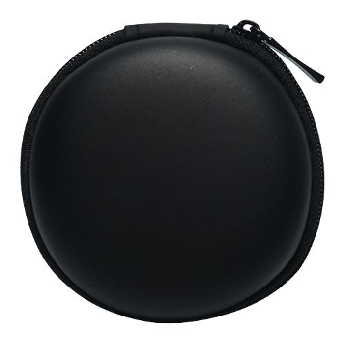 Round Travel Tech Accessories Storage Case